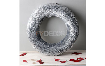 Glitter Door Wreath Handicraft