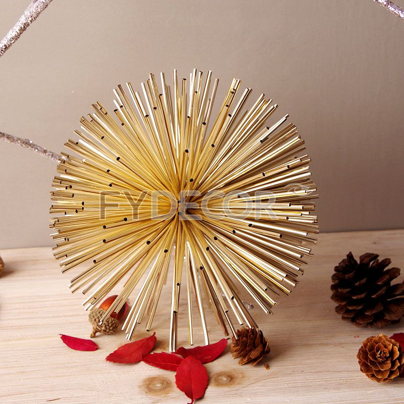 DIY Shiny Pom Pom Magic Balls for Celebration and Party Decorate or Christmas Decor