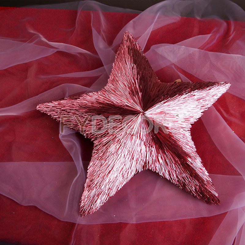 Christmas Star crafts shiny/glittering ornaments for any holiday decoration