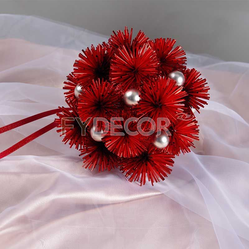Glittering Hanging Ornament For Holiday Decoration